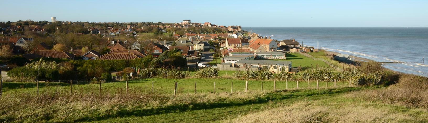 Mundesley, Norfolk (from east)