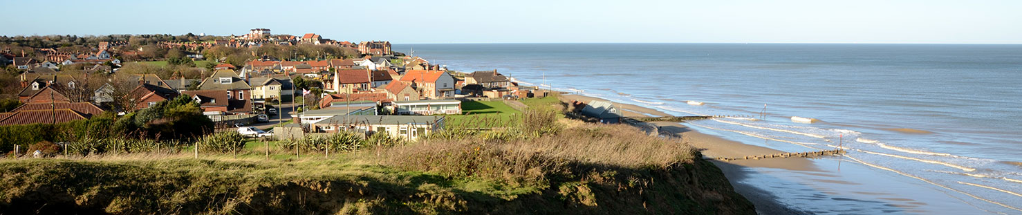 Mundesley - view from east