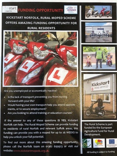 Kick Start Norfolk Moped Charity