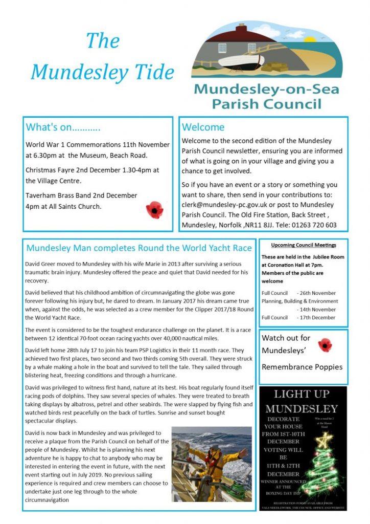 Mundesley Newsletter