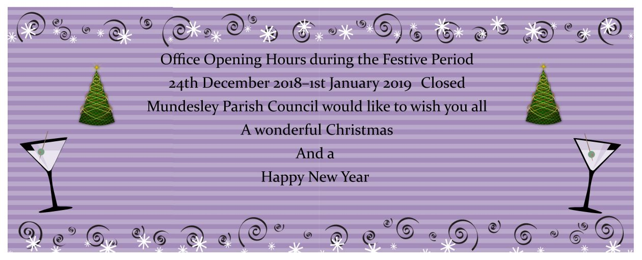 Office Opening House over the Festive Period