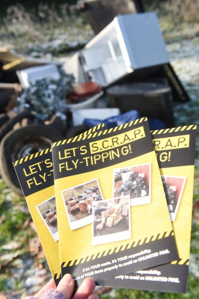 COUNTY COUNCIL TACKING FLY TIPPING