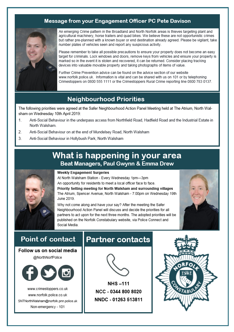Police Newsletter March page 2