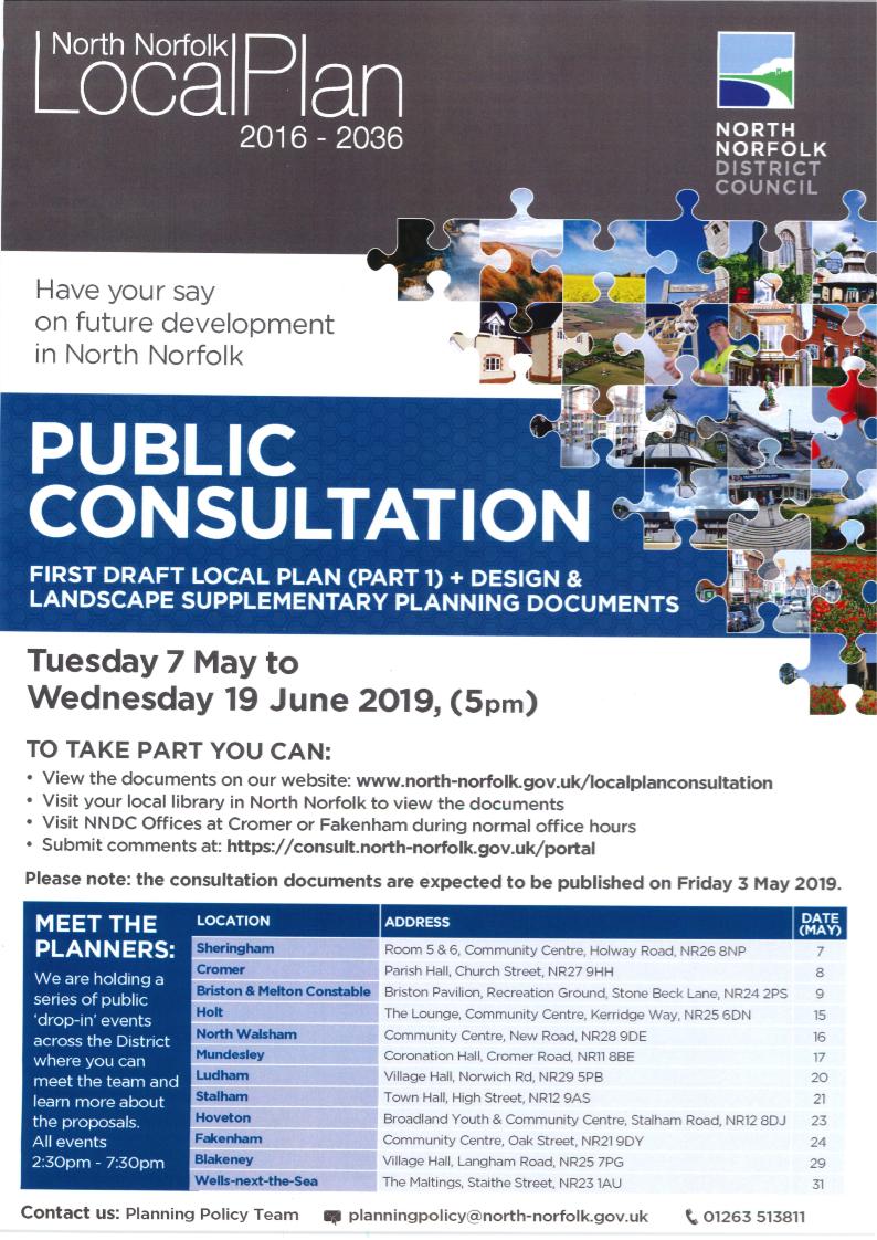 LOCAL PLAN PUBLIC CONSULTATION