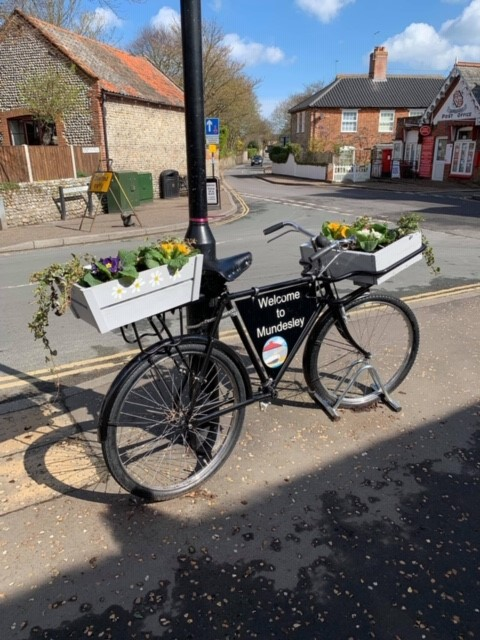 Planter sponsorship - village bike