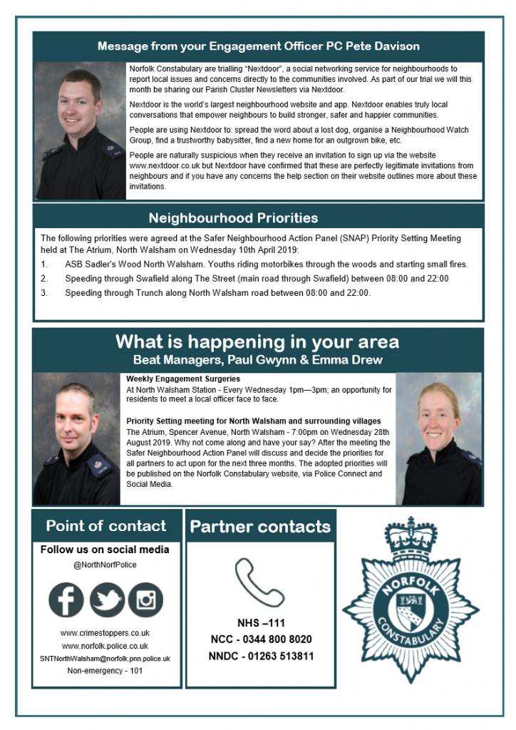 Police Newsletter - June page 2