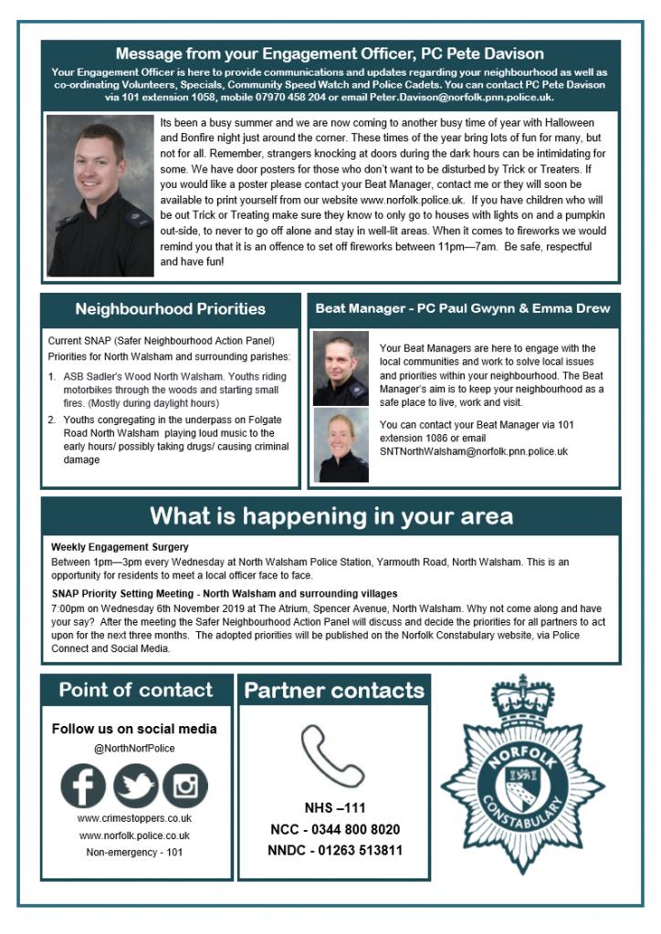 Police Newsletter