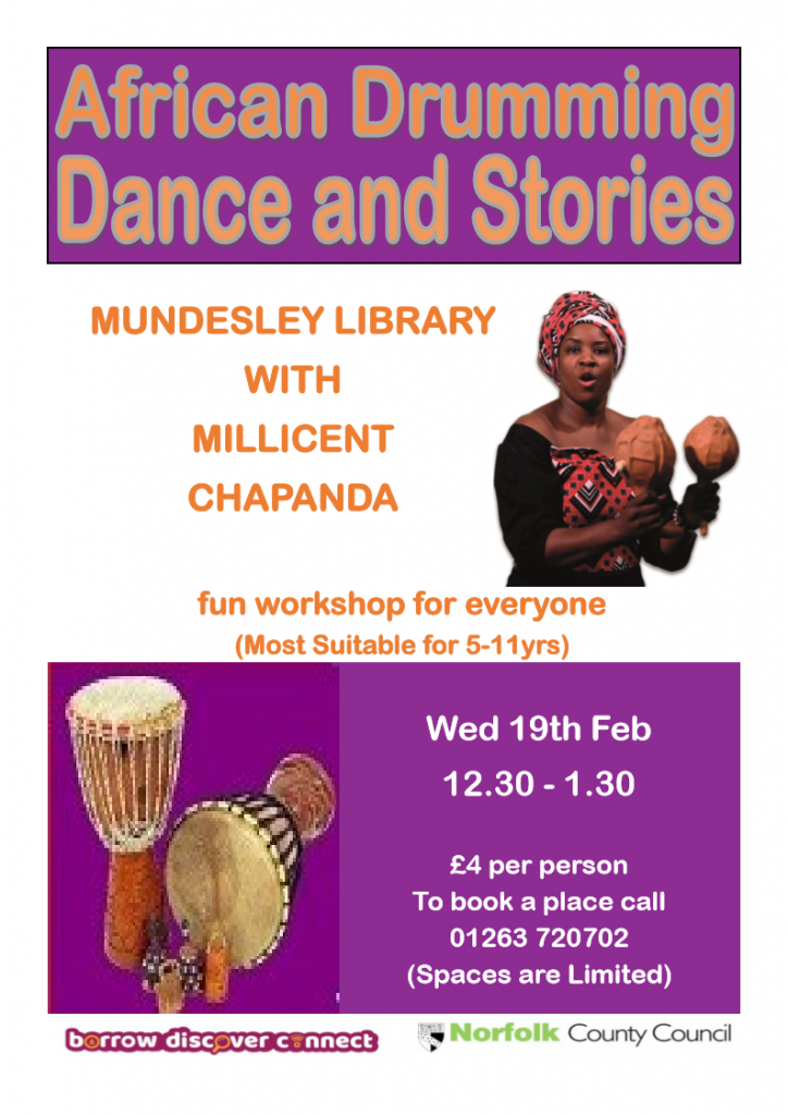 Childrens event at the lIbrary