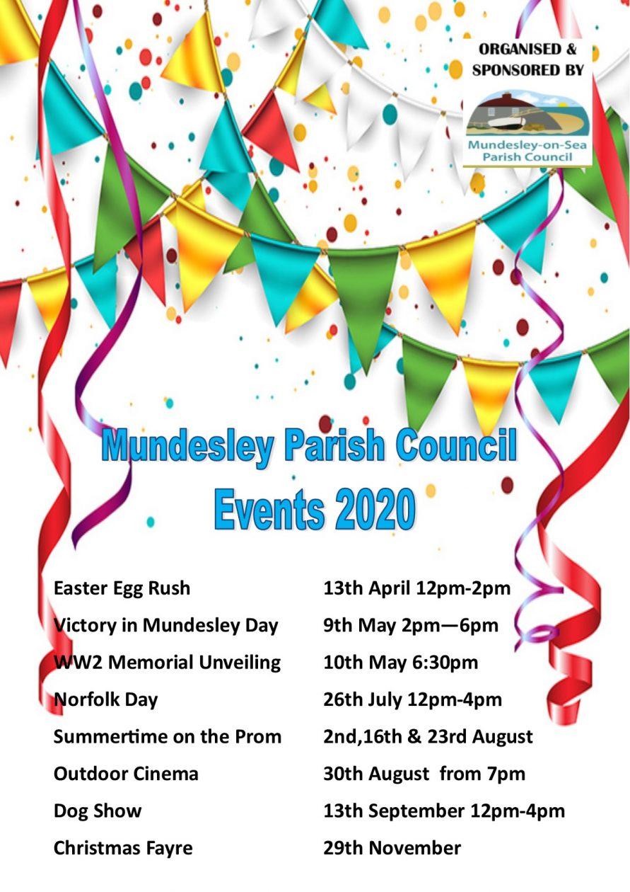Mundesley Parish Council Events 2020