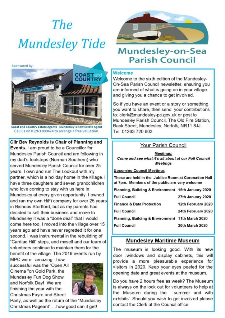 Mundesley Parish Newsletter- Front page