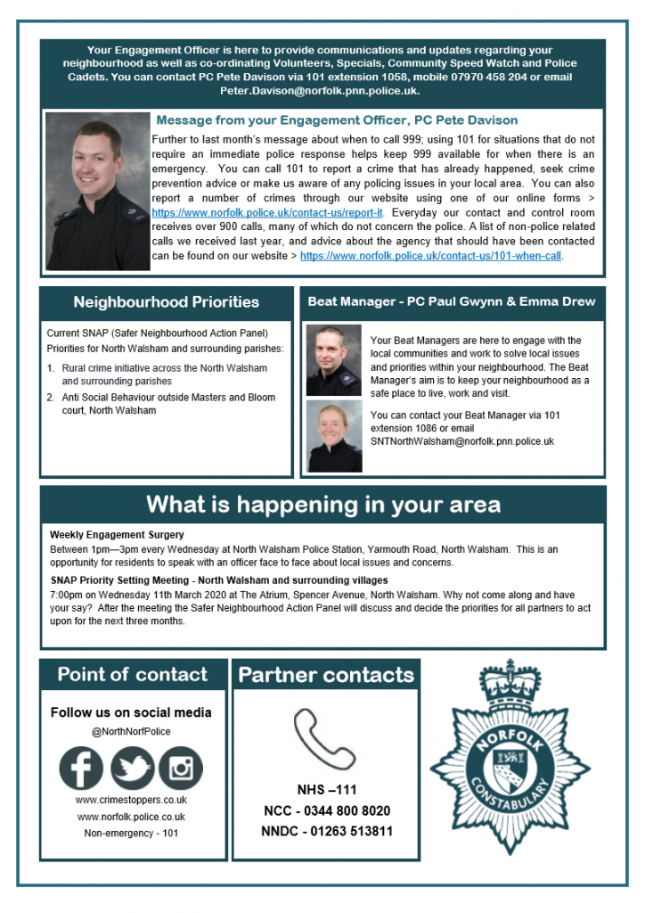 Police Newsletter February Page 2