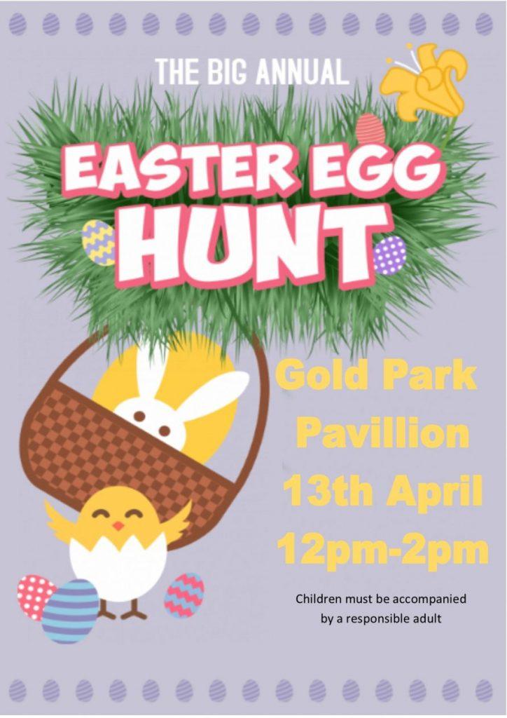 Easter Egg Hunt in Mundesley