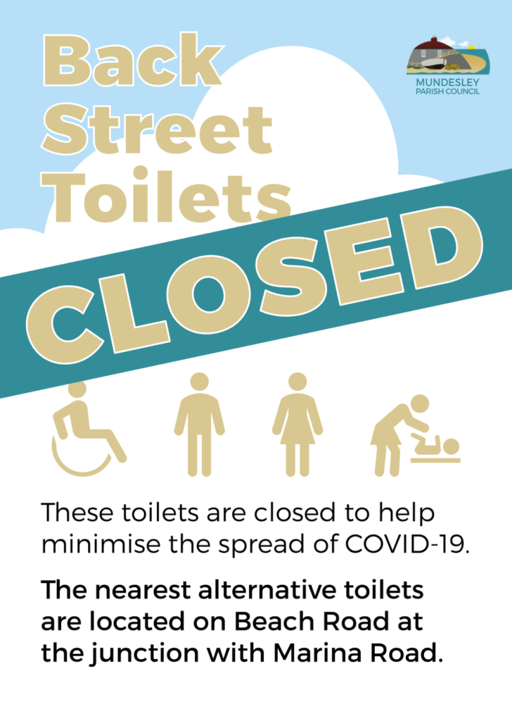 Back Street toilets closed due to covid-19