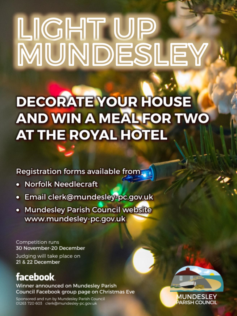 Light Up Mundesley Poster