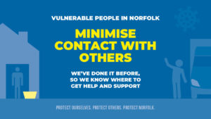 MINIMISE CONTACT WITH OTHERS